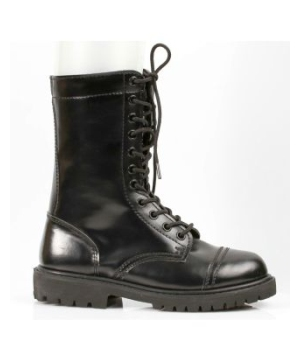 Black Combat Adult Boots