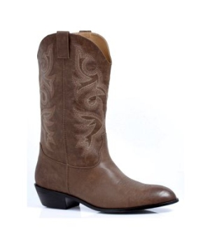 Brown Cowboy Adult Boots
