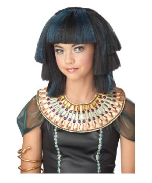 Egyptian Stepped Layers Kids Wig