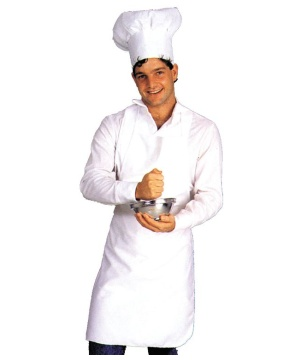 Apron Chef Men Costume