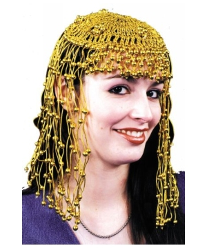 Golden Egyptian Headpiece Accessory