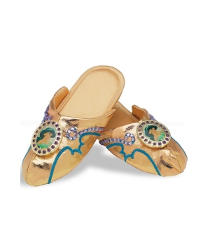 Princess Jasmine Girls Slippers
