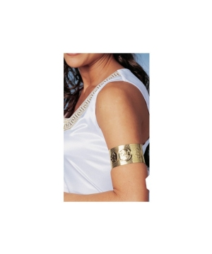 Golden Roman Womens Arm Cuff