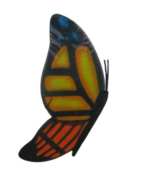 Orange Butterfly Kids Wings