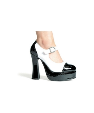 Saddle Shoes Black/white - Women Shoes