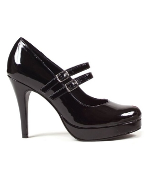 Black Jane Shoes - Adult Shoes