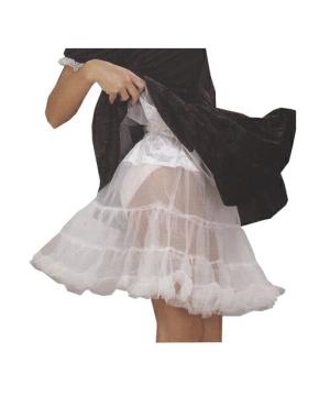 Petticoat White- Adult Plus Size Petticoat