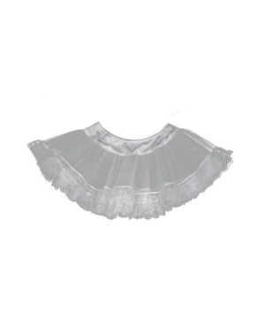 White Lace Petticoat Women Accessory Costume