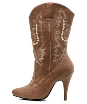 Brown Cowgirl Boots Adult Shoes