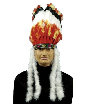 Native American Headdress Adult Accessory