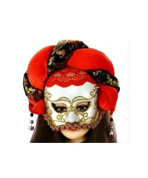 Elegant Jester Masquerade Adult Mask