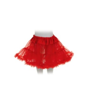 Red Kids Tutu Skirt