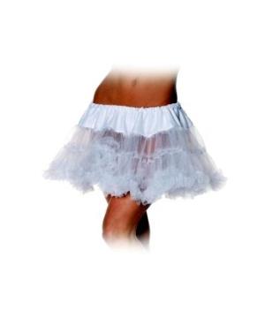 White Petticoat Adult Tutu