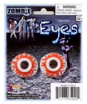 Zombie Eyes For Kids