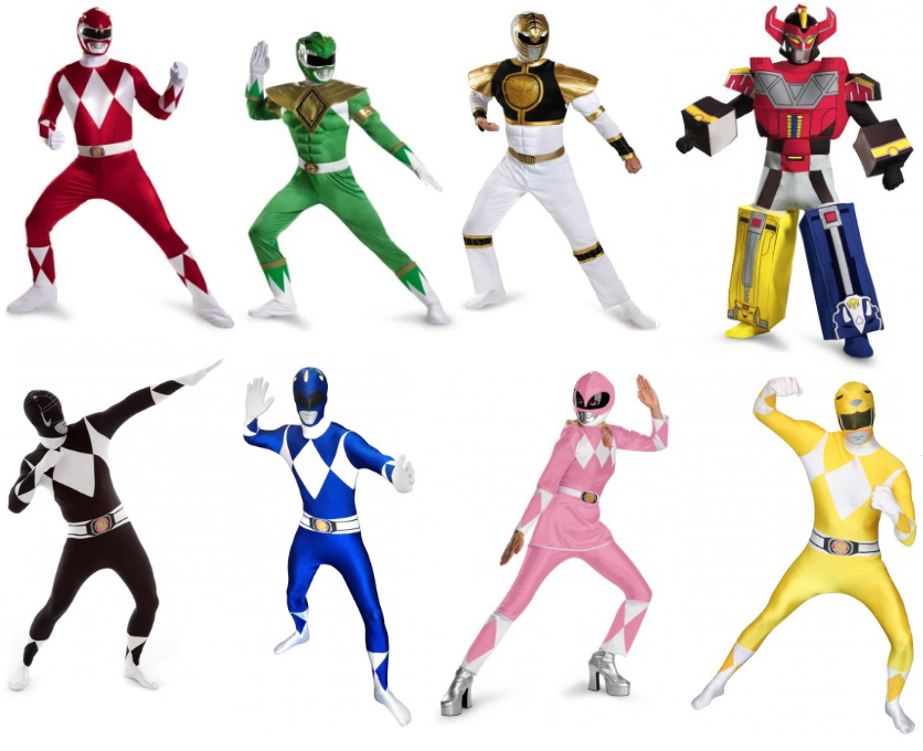 Could The New Power Rangers\' Costumes Add A Different Tone To The ...