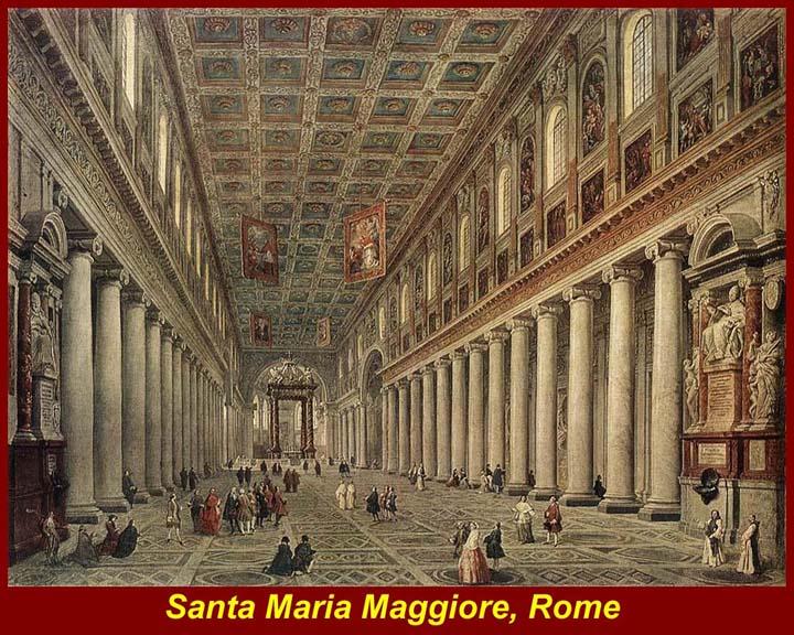 santa maria maggiore rome - Ancient Rome Designs
