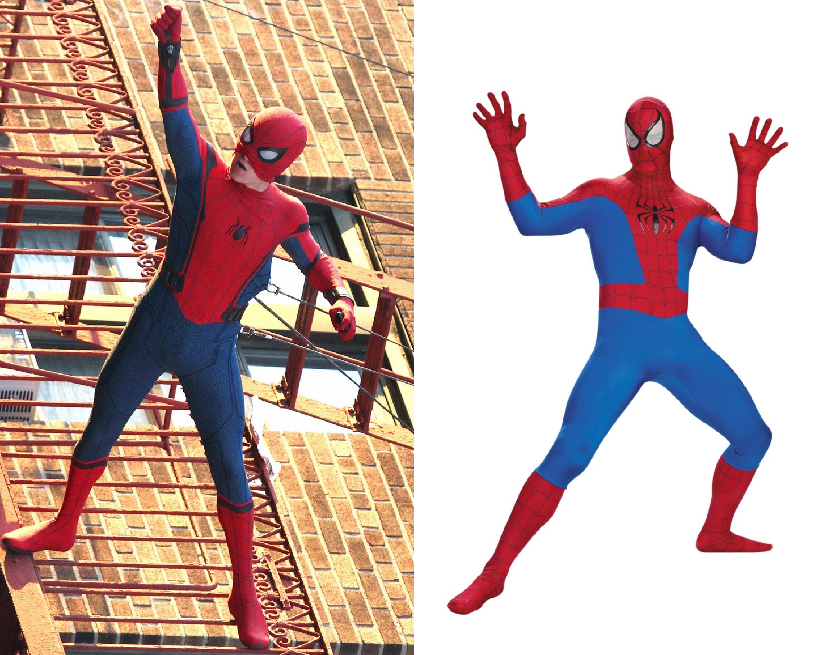 how to make a spiderman homecoming costume