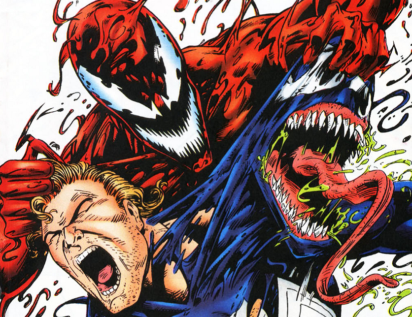 Venom Vs. Carnage Is an Epic Battle Between Costumes!