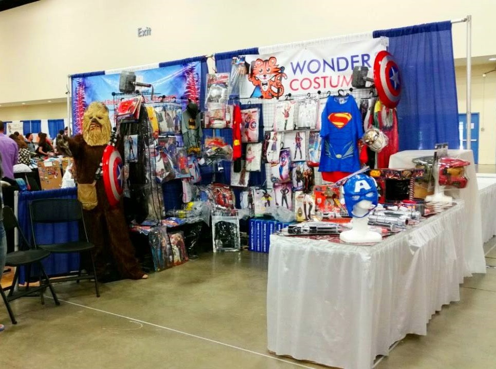 Wonder Costumes' Super-Con Booth 2015