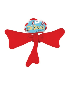 Dr. Seuss Red Bow Tie - Costume Accessory
