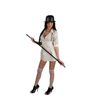 A Clockwork Orange Brother Droog Woman deluxe Costume - Adult Costume