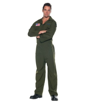 Air Force Jumpsuit Costume - Adult Costume