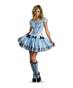 Alice Disney Womens Costume