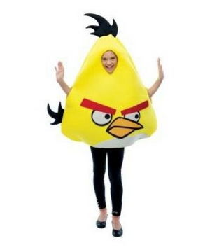 Yellow Rovio Angry Birds Kids Costume