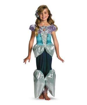 ariel shimmer disney girls costume