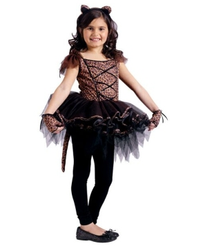Ballerina Leopard Girls Costume