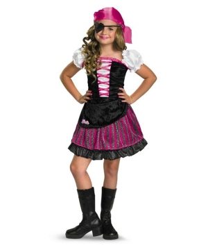 Barbie High Seas Pirate Kids Costume