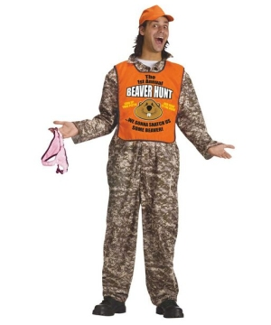 Beaver Hunter Costume - Adult Costume