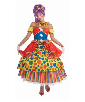 Belle the Clown Women Costume