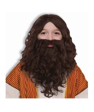 Child Biblical Wig and Beard