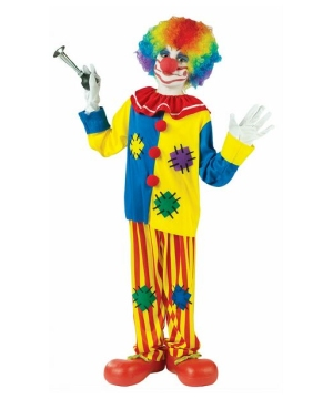 Big Top Clown Boys Costume