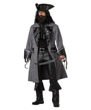 Blackbeard Pirate Mens Costume