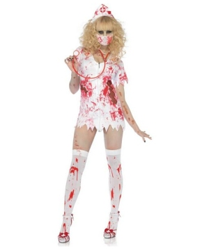 Bloody Nurse Costume - Adult Costume