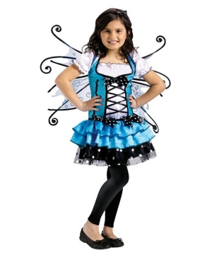 Bluebelle Fairy Girls Costume