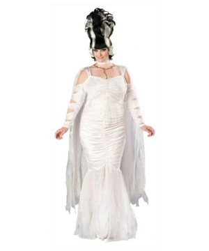 Bride of Frankenstein plus size Costume