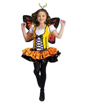 Butterfly Princess Girls Costume
