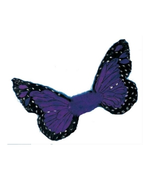 Purple Butterfly Wings - Adult Wings