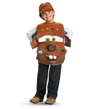 Cars 2 Tow Mater Boys Costume