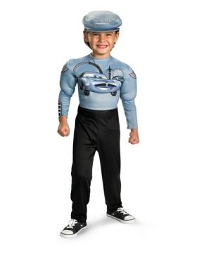 Cars Finn Mcmissle Disney Boy Costume
