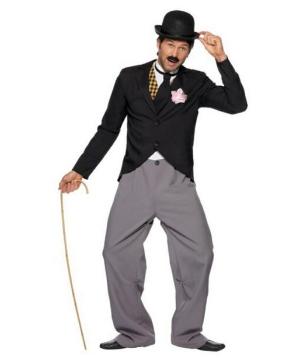Charlie Chaplin Men Costume