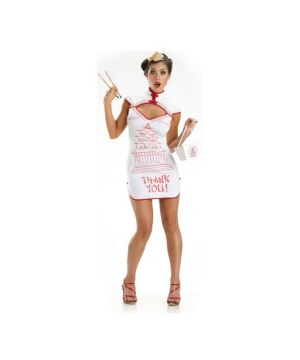 Chinese Takeout Costume - Adult Costume