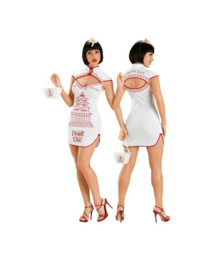 Chinese Takeout Costume - Adult plus size Costume