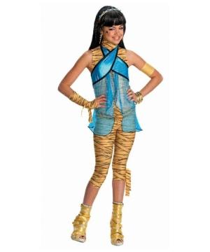Monster High Cleo De Nile Girls Egyptian Costume