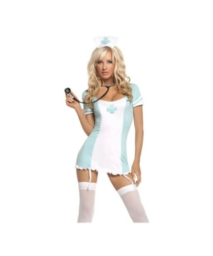 Cpr Nurse Costume - Adult Costume