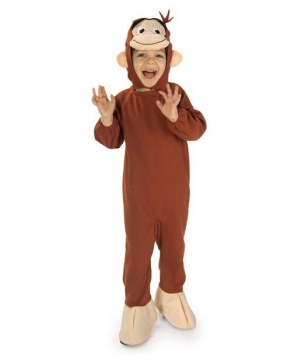 Curious George Costume - Kids Costume