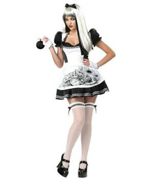 Dark Alice Women Costume